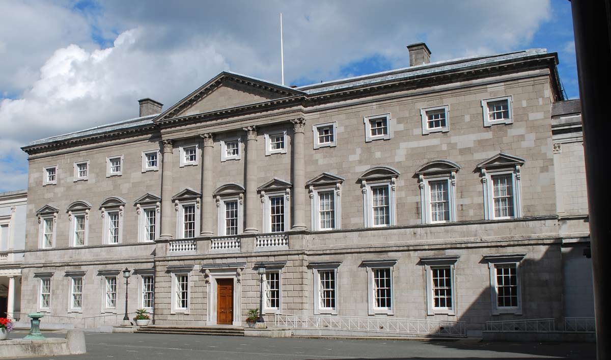 Was The White House Design A Copy Irish Architect James Hoban Supposedly Based His Plans On Leinster In Dublin Originally Home